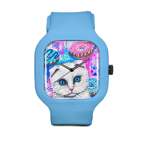Donut Kitty Sport Watch