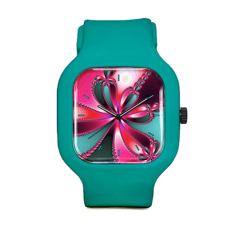 Forever Flowers Sport Watch