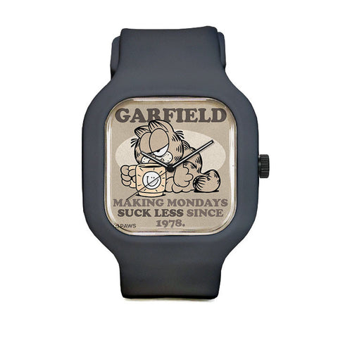 Garfield Mondays Suck Sport Watch