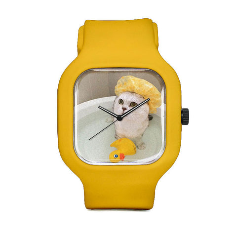 Haru Loves Bath TIme Sport Watch