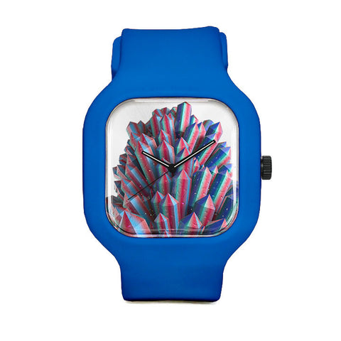 Colored Crystal Sport Watch