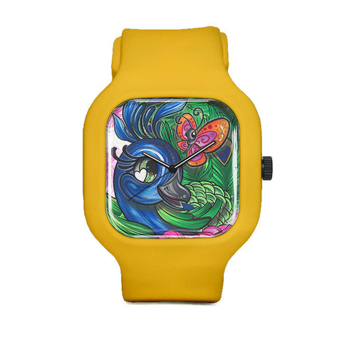 Pretty Peacock Sport Watch