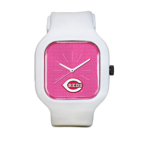 Pink Cincinnati Reds Sport Watch