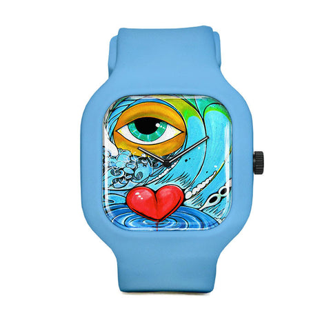 Love Removes Hurt Sport Watch