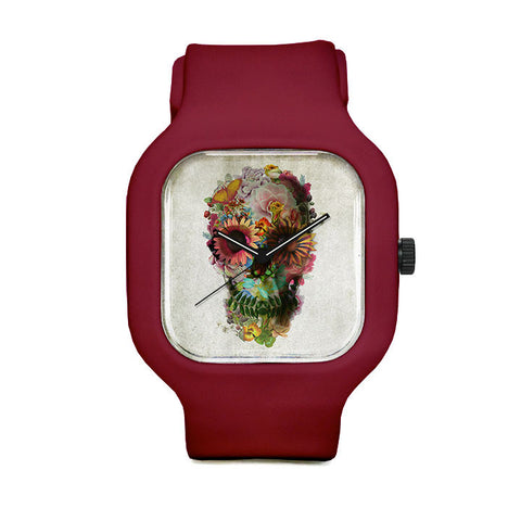Flower Skull 2 Sport Watch