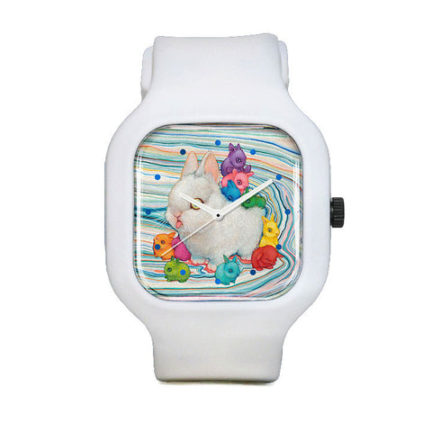 Rain Buns Sport Watch