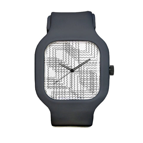 Diced Sport Watch