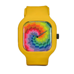Neon Rainbow Sport Watch