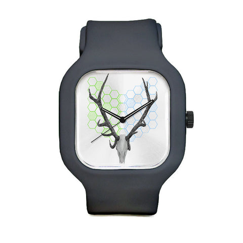 Stag head Geo Sport Watch