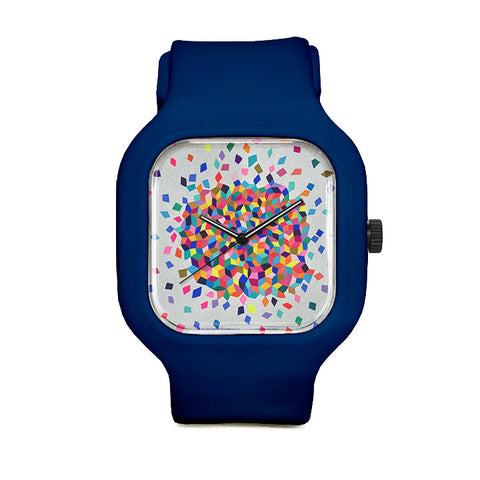 Confetti Cloud Sport Watch