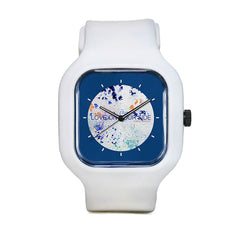 Love On Your Side BLue Sport Watch