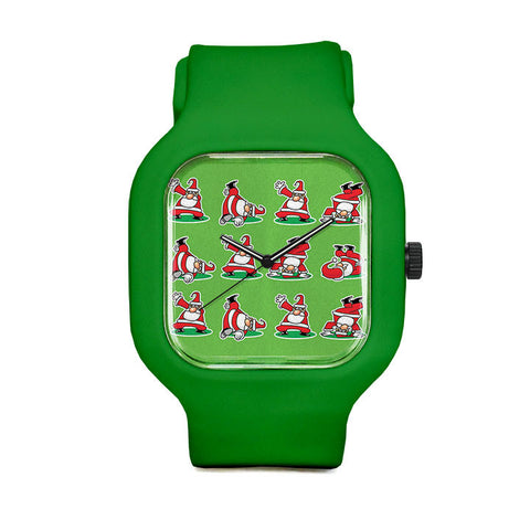 Breakdance Santa Sport Watch