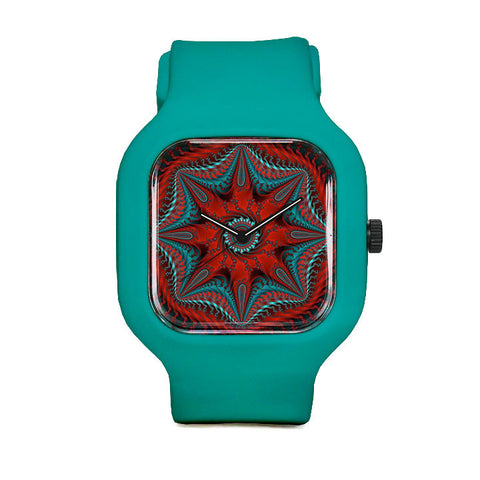 Crimson Aster Sport Watch