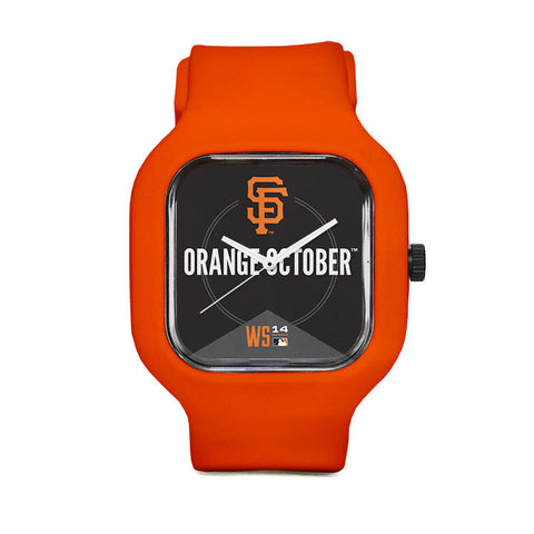 San Francisco Giants Orange October Sport Watch