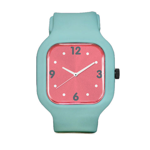 Basic Salmon Sport Watch