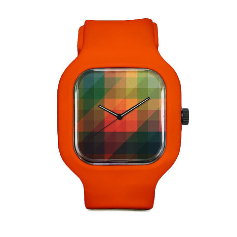 James Passos Orange Sport Watch