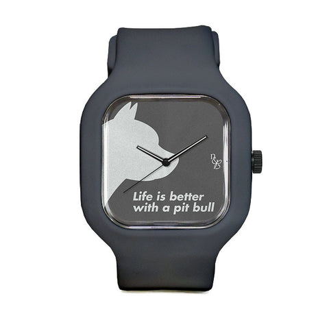 Life is Better with a Pitbull Sport Watch