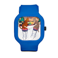 Fish and Chips Sport Watch