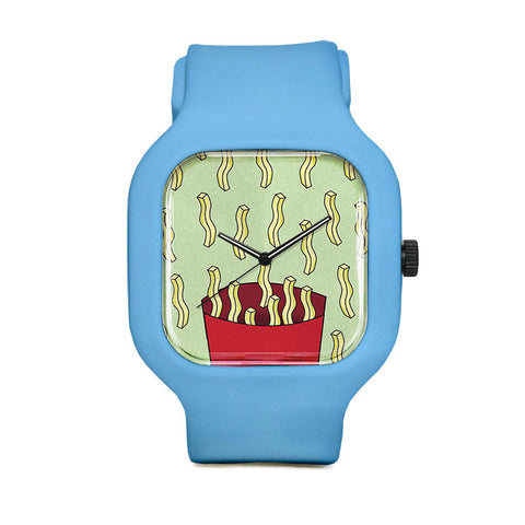 French Fries Sport Watch