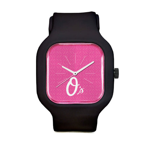 Pink Baltimore Orioles Sport Watch
