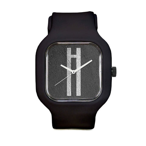 Monolithic Monogram h Sport Watch