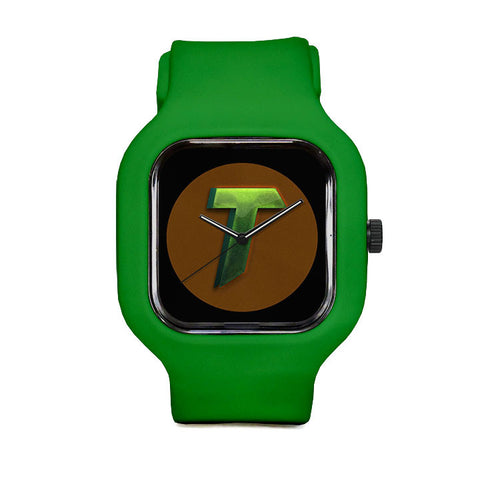 Short Logo Sport Watch