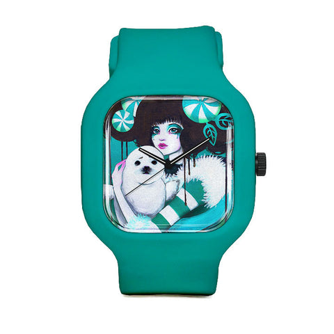 Mina and Peppermint Sport Watch