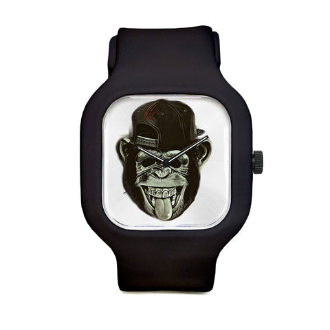 Hipster Monkey Sport Watch