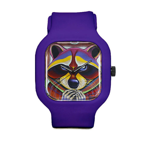 Raccoon Conspiracy Sport Watch