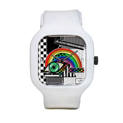 Into the rainbow triangle Sport Watch