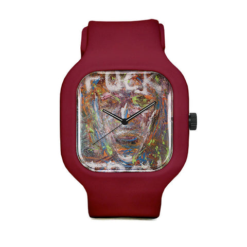 Novak Oil Painting Sport Watch