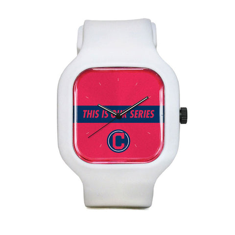 Cleveland Indians This is Our Series Sport Watch