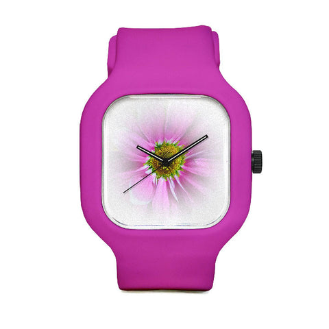Blush Blosson Flower Sport Watch