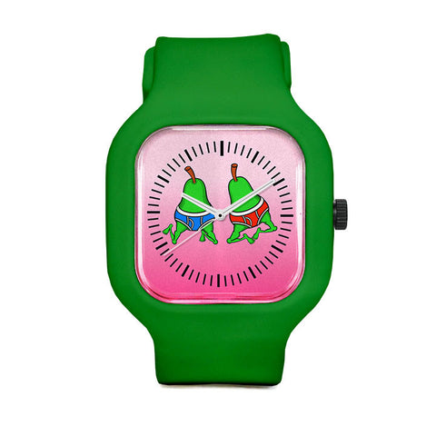 Happy Gay Pride Pears Sport Watch