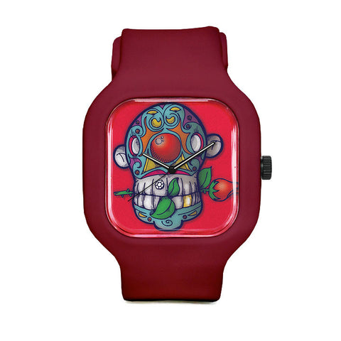 Skull Clown Sport Watch