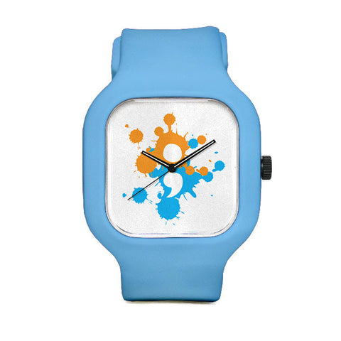 Paint Splatter Sport Watch