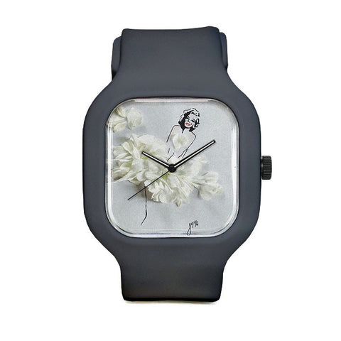 Flower Dress Sport Watch