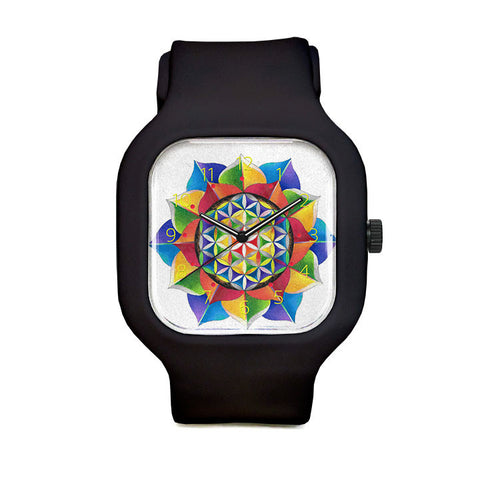 Flower of Life Sport Watch