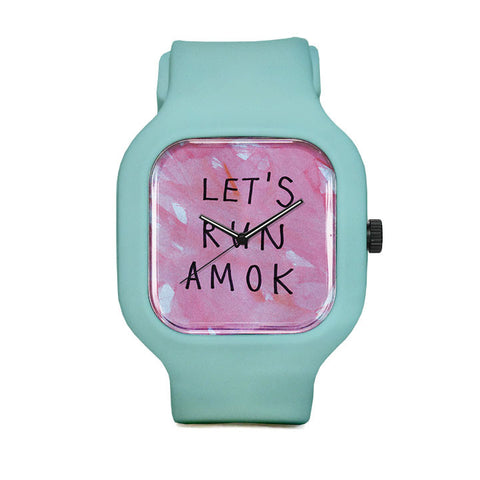 Let's Run Amok Sport Watch
