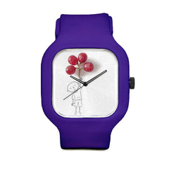 Boy with Grapes of Balloon Sport Watch