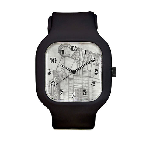 Cains with Numbers Sport Watch