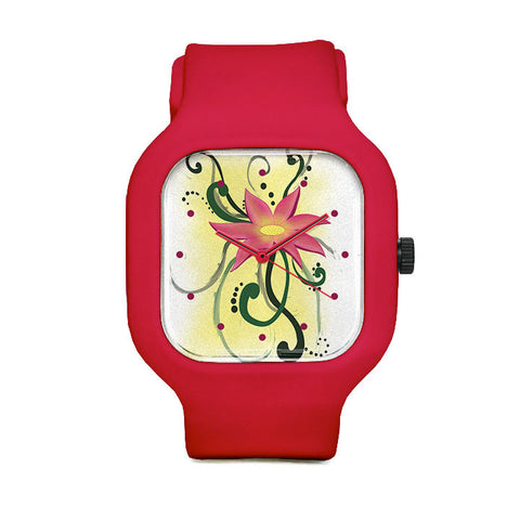 VanyNanyFluidFlower Sport Watch