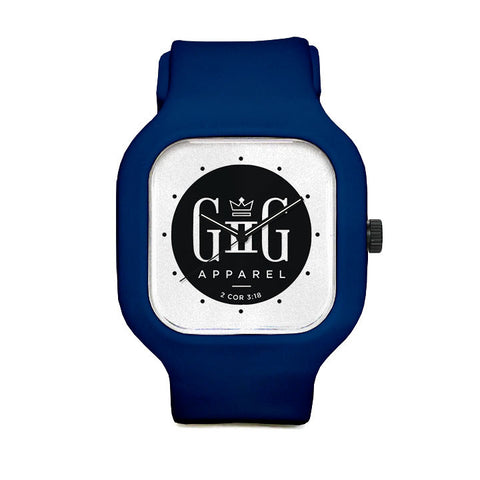 G2G Logo Sport Watch