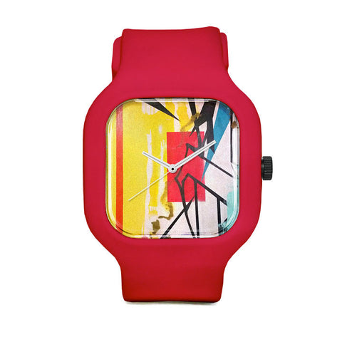 Letters Escape Sport Watch
