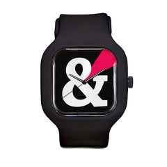 Black Ampersand Sport Watch