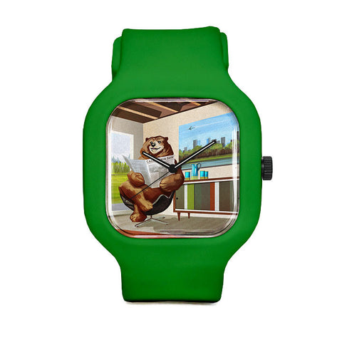 California Modern Bear Sport Watch