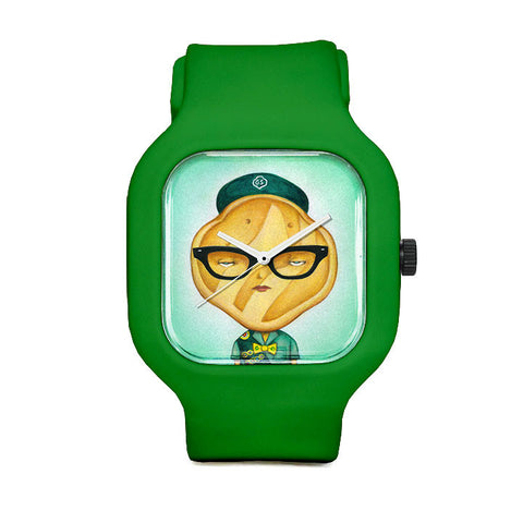 Girl Scout Cookie Trefoil Sport Watch