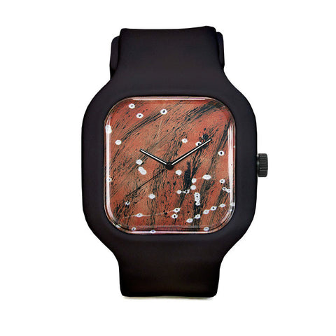 Grasses and Fireflies Sport Watch