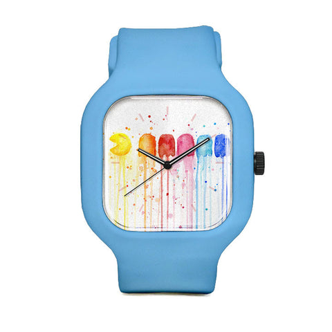 Retro Rainbow Sport Watch