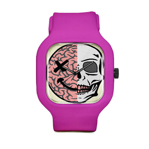Brain Skull Sport Watch